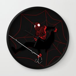 Ultimate Spider-man Miles Morales Wall Clock