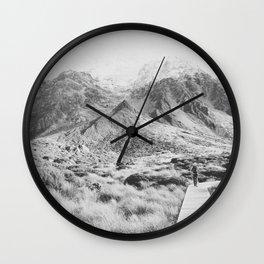 AORAKI / MOUNT COOK II Wall Clock