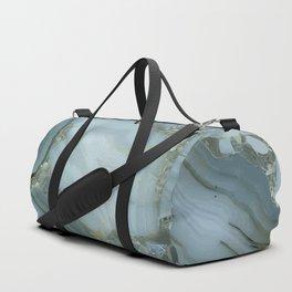 Slate Blue Lace Agate Duffle Bag