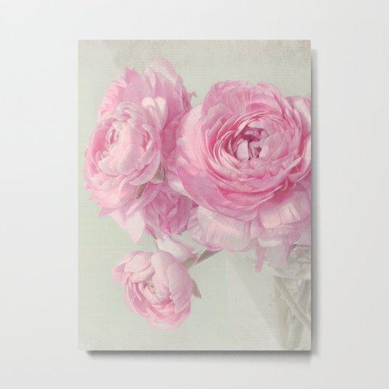 think pink N°2 Metal Print