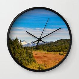 Chugach State_Park, Kenai_Peninsula, Alaska Wall Clock
