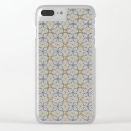 Imperialistic Silver & Gold Clear iPhone Case