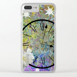 Time Explodes Clear iPhone Case