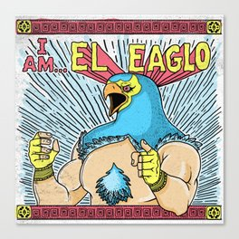 El Eaglo Canvas Print