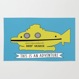 The Life Aquatic with Steve Zissou This is an Adventure Rug