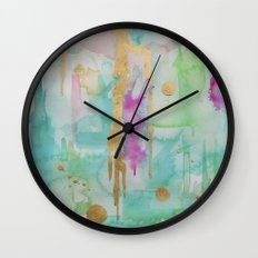 Mint Macaroon Wall Clock