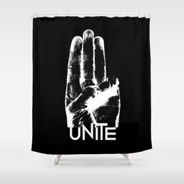 Unite Mockingjay Shower Curtain