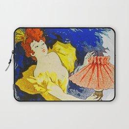 Jules Cheret Saxoleine Lamp Oil 1896 Laptop Sleeve