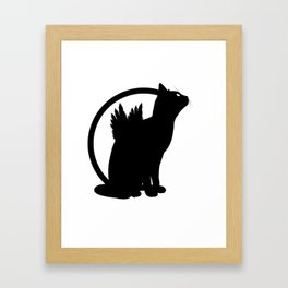 catwings Framed Art Print