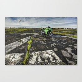 Sports motorbike Canvas Print