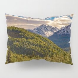 Termination Dust - Glenn Highway, Alaska Pillow Sham