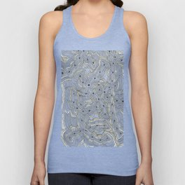 Ant Farm Abstract Doodle Unisex Tank Top