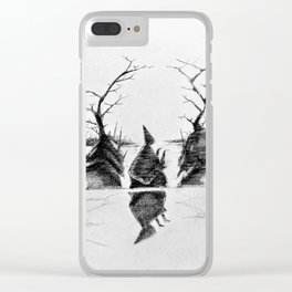 Swamp Scry Clear iPhone Case