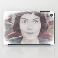 amelie iPad Cases featuring Amelie by EclipseLio