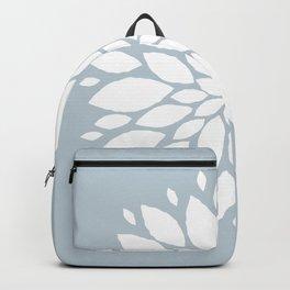 Flower in White #1 Backpack