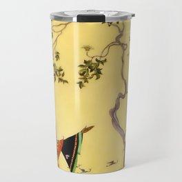 """Folk tale """"1001 Nights"""" by Virginia Sterrett Travel Mug"""