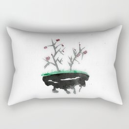 Abstract art, watercolor Rectangular Pillow