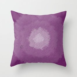 purple fabric Throw Pillow