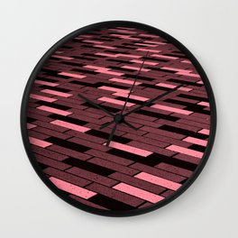 paving stones Wall Clock