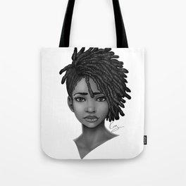 Locs style Tote Bag