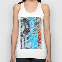 detroit Tank Tops featuring DETROIT GRAFFITI by Brittany Gonte