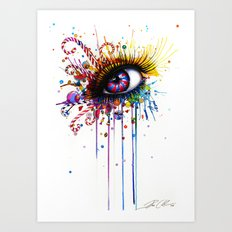 -Dead by Candy- Art Print