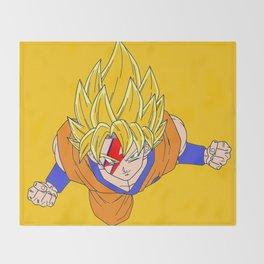 dragonball art imagenation Throw Blanket