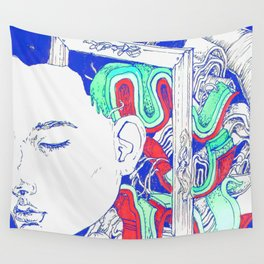 It's kind of funny, it's kind of sad Wall Tapestry