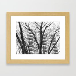 Nature Ovecomes Framed Art Print