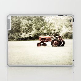Vintage Red Tractor Laptop & iPad Skin