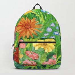 Wildflowers Up Close Backpack