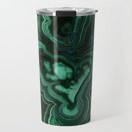 Malachite Patterns Travel Mug