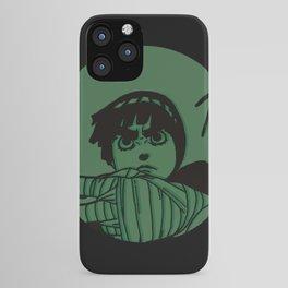 Rock Lee Jutsu iPhone Case