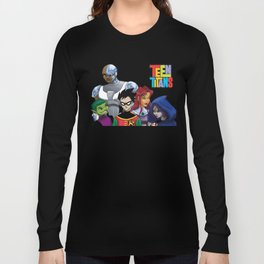Teen Titans Long Sleeve T-shirt