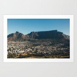 Table Mountain Art Print