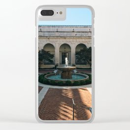 Freer Gallery Clear iPhone Case