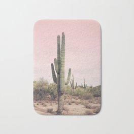 Blush Sky Cactus Bath Mat