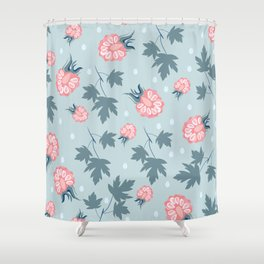 Fashion berries pattern design Shower Curtain