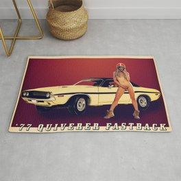 '77 Quiverer Fastback Rug