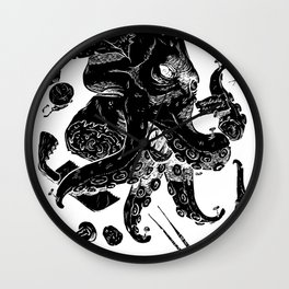Monster Autopsy - Negative Wall Clock