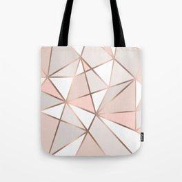 Rose Gold Perseverance Tote Bag