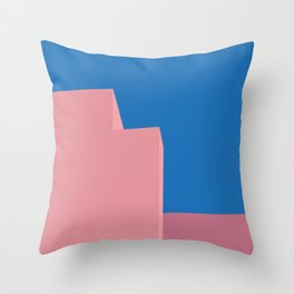 Architectural colors 2 Throw Pillow