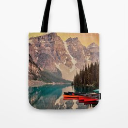 scenic beauty deep valley Tote Bag