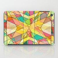kaleidoscope iPad Cases featuring Kaleidoscope by Tammy Kushnir