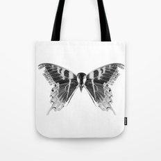 Wings and Skull #1 Tote Bag