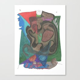 Drawing #55 Canvas Print