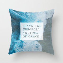 RHYTHMS OF GRACE Throw Pillow