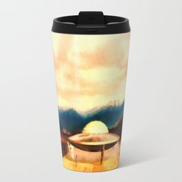 Alien With Craft Travel Mug