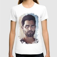 derek hale T-shirts featuring Teen Wolf - Derek Hale V2 by Caim Thomas