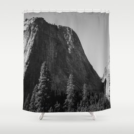 El Capitan V Shower Curtain